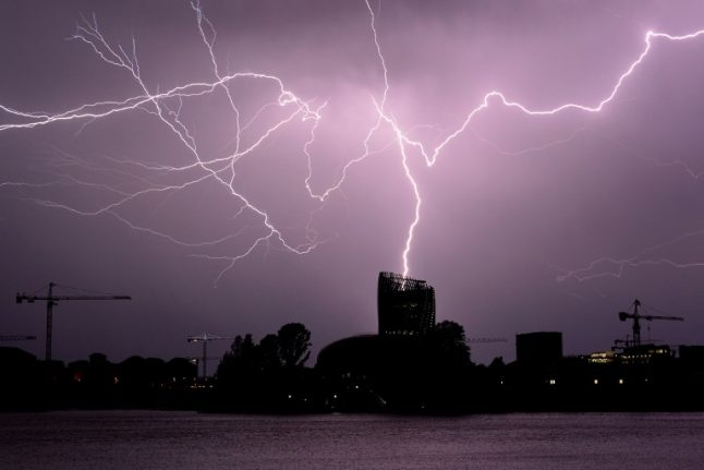 Weather warning: Violent storms to lash south west France
