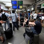 Rail chaos in France after fire blocks Montparnasse train station in Paris