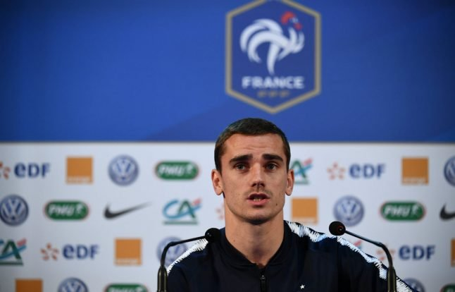 Griezmann happy if France win World Cup 'ugly'