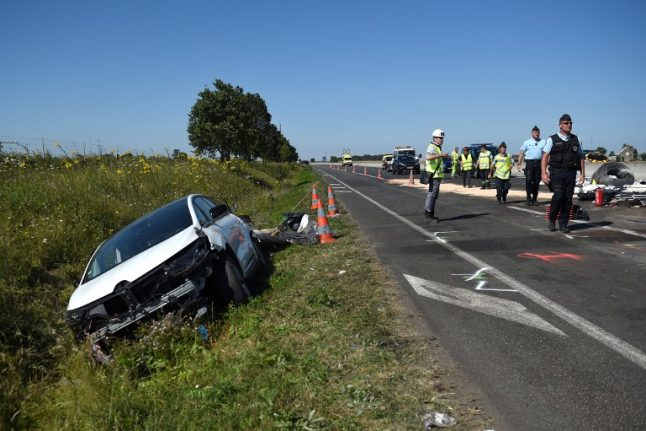 Causes of deaths on French motorways act as warning to drivers