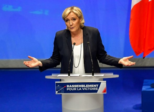 France's Le Pen demands cross-party support after funds seized