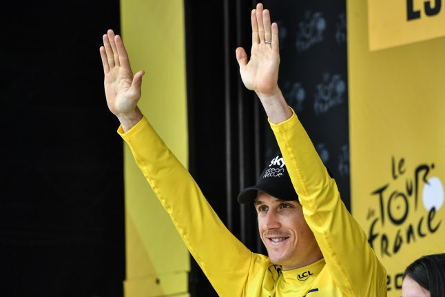 Burger and beers as 'great guy' Thomas takes over Tour de France mantle