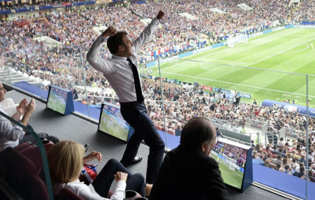 'Merci, you did it': Macron revels in France's World Cup triumph