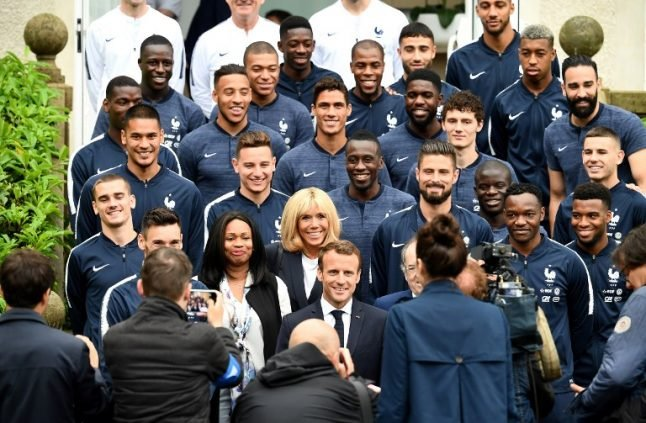 French president Macron attacked for 'putting World Cup glory ahead of tackling poverty'