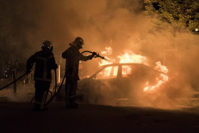 Clashes in western France after police shoot young man dead