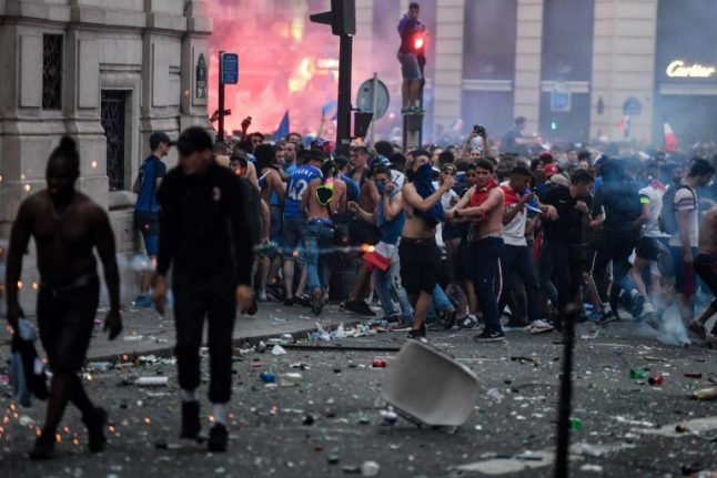 Looters, violence and road accidents tarnish French World Cup party