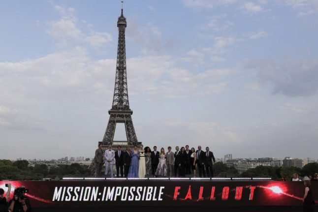 Mission impossible: Tom Cruise returns to Paris to walk red carpet