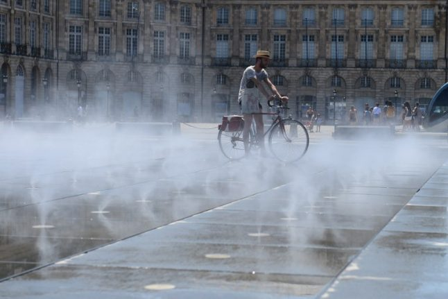 Heatwave warnings extended across France as temperatures edge higher