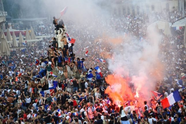'We won!': France erupts in joy after World Cup final win