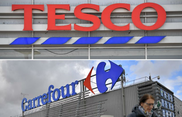 Carrefour unites with Tesco to battle rivals in supermarket sector