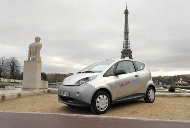 Autolib cars to be taken off Paris streets at midnight