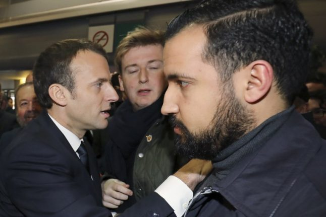 'Stupid mistake'…'a storm in a teacup': Macron and Benalla play down scandal