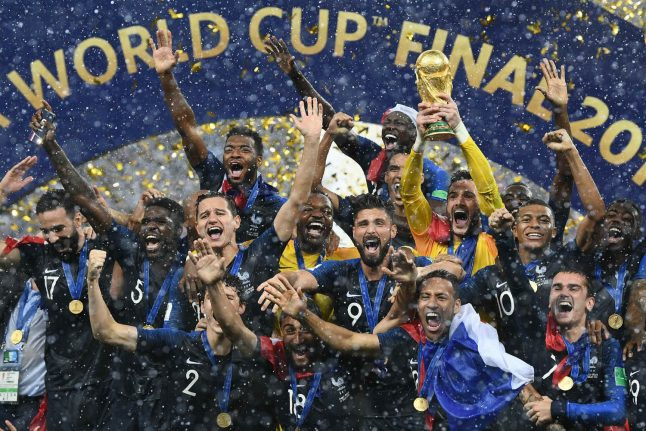 France are World Cup champions after victory in Moscow final