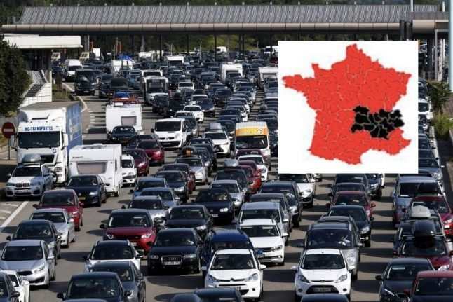 Holiday exodus: Drivers to face 'black Saturday' in eastern France