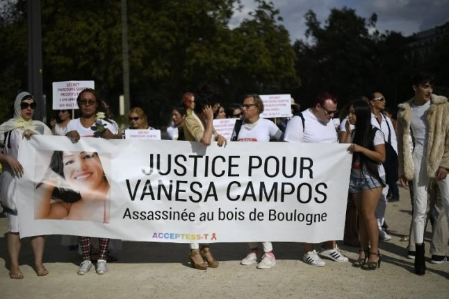 Five charged with murdering transgender prostitute in Paris