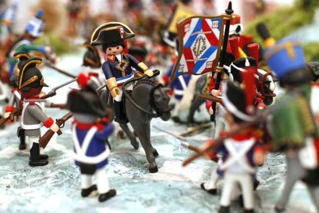 In Pictures: Corsica's Playmobil homage to Napoleon