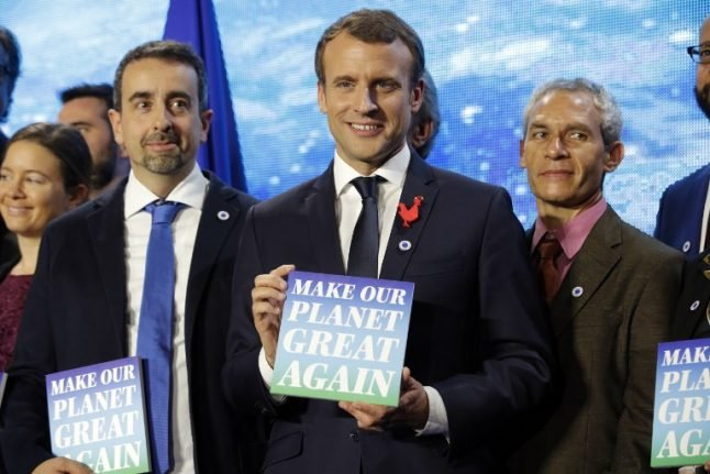 Does France's Macron really care about 'making the planet great again'?