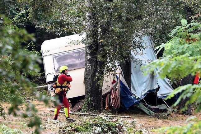 German man missing after floods rip through French campsite