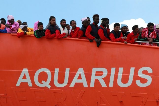 French NGO vows nothing will stop Aquarius migrant rescues