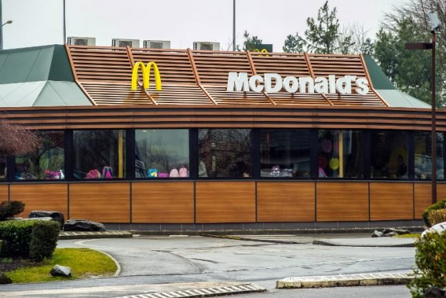 French McDonald's worker threatens to set himself on fire over losing job