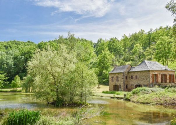 French Property of the Week: Stunning lakeside stone house in south of France