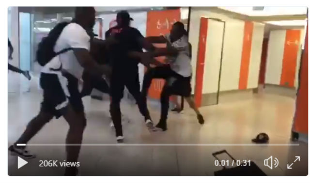 Shocking brawl between French rappers hits flights at Paris airport