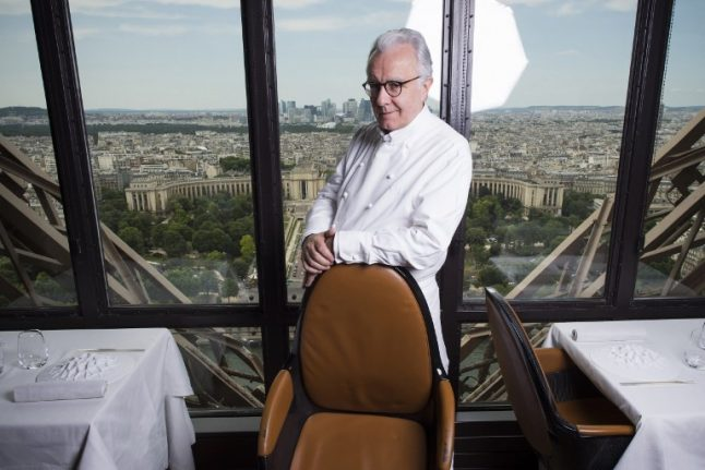 Furious Eiffel Tower chef challenges rivals over eviction from top job