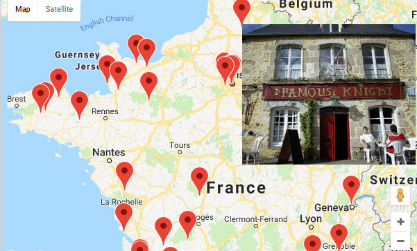 Where to find the best pubs around France