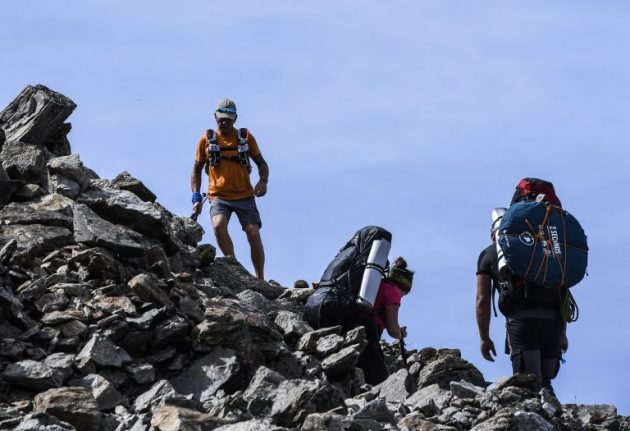 Climbers on France's overcrowded Mont Blanc reach peak recklessness