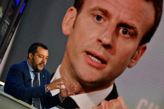 Immigration: Macron happy to be enemy number one for Orban and Salvini