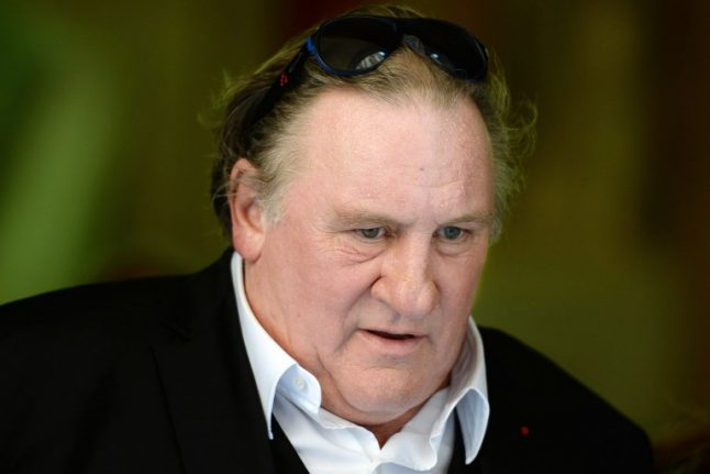 French star Gerard Depardieu faces probe over rape allegations