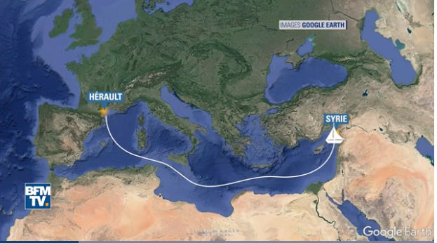 Man planned to sail from France to Syria with daughter, 10, to join Al-Qaeda
