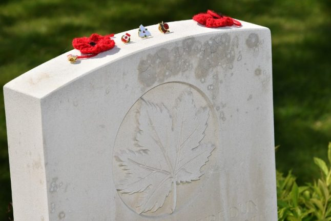 Four Canadian soldiers killed in WWI will finally be buried in France