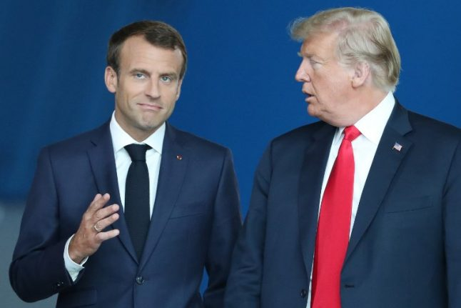 Macron says Europe can no longer rely on US for security
