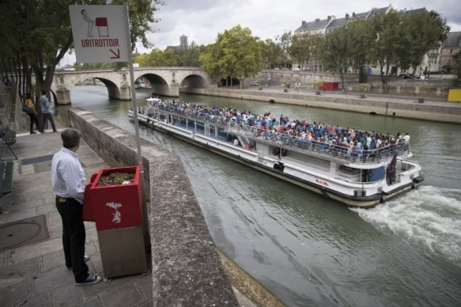 Paris's eco-friendly urinals spark sniggers and seething