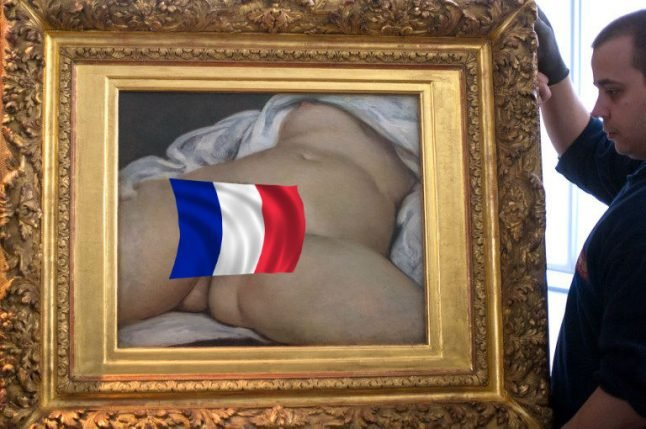 Mystery behind art's most scandalous vagina solved in France