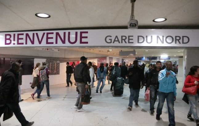 Baby on board: Woman gives birth at Gare du Nord station in Paris