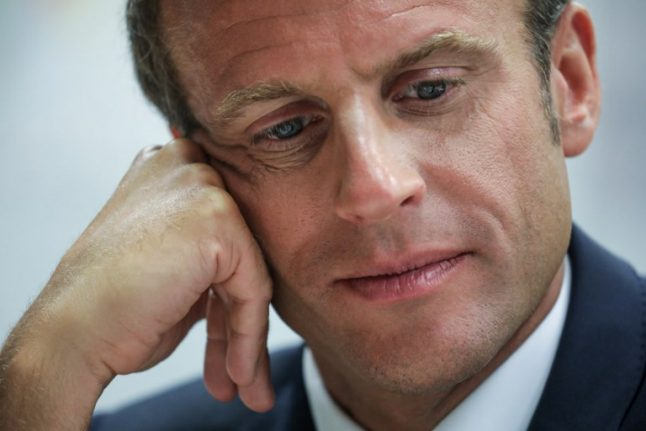 Macron looks to regain his footing as challenges mount