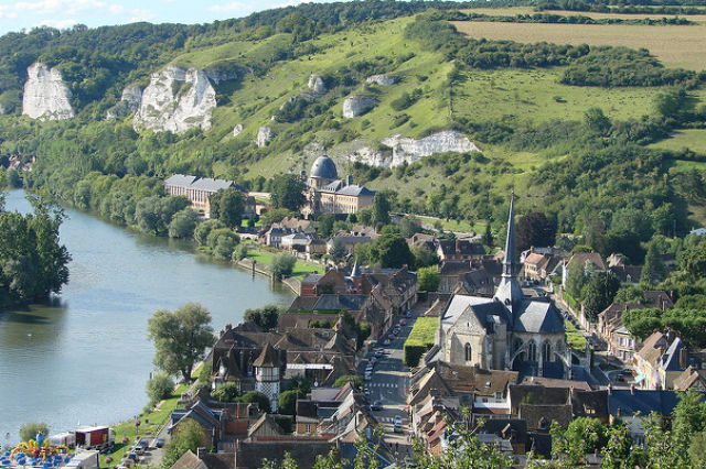 The one place to visit in France this weekend: Les Andelys