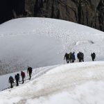 French Alps: Mother killed in front of family in tragic climbing accident