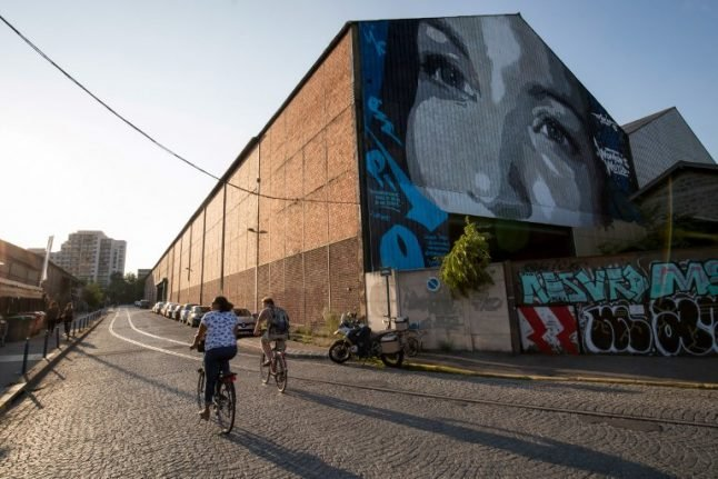 Wasteland makeovers bring creative cool to Paris suburb