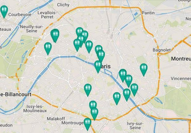 Revealed: Where are all the toilets on the Paris Metro and RER