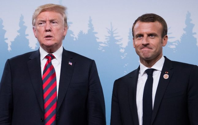 Most French people no longer consider US a trusted ally
