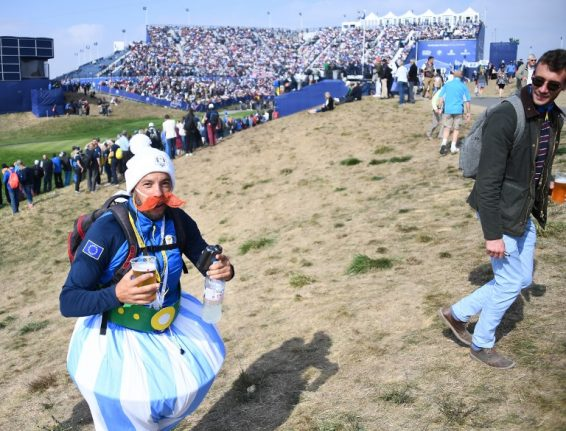 The Ryder cup has kicked off in France, but most French people don't care