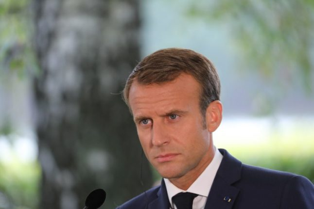 Macron plugs holes in cabinet as popularity sinks to new low