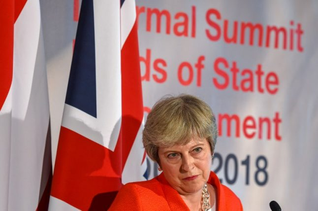 'Disgraceful': Theresa May leaves Brits in France furious after Brexit speech