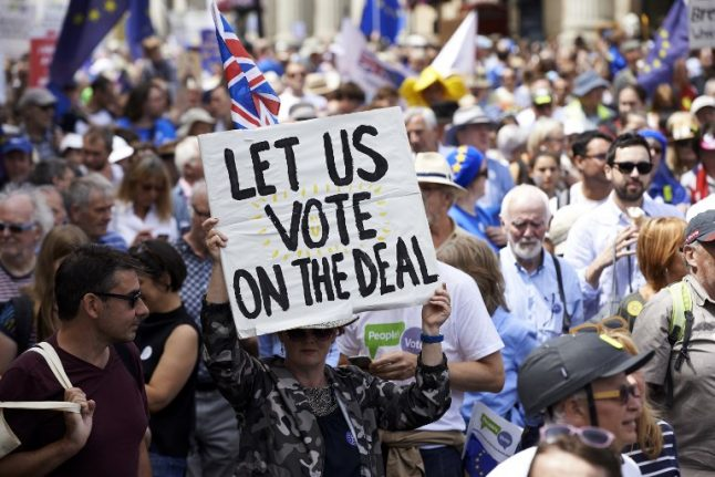 Your Views: Brits in France demand second referendum but some remain wary