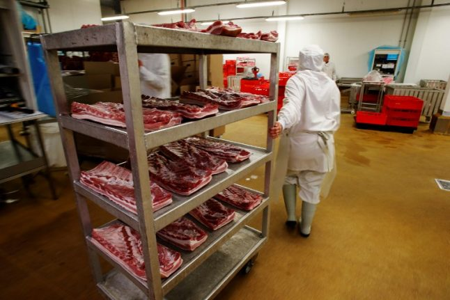 French slaughterhouse workers 'butchered animals alive'