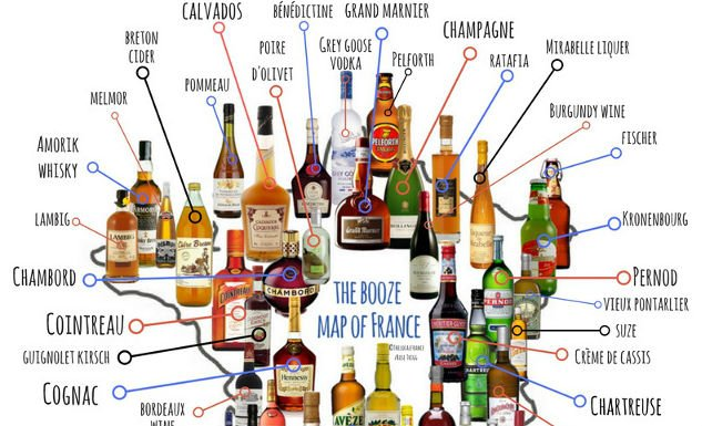Calvados to Chartreuse: The ultimate booze map of France