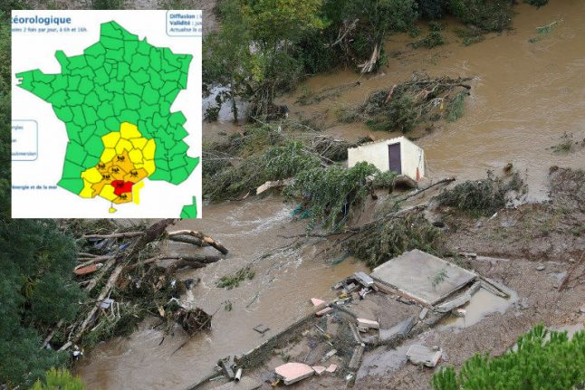 Red alert: What's the problem with France's weather warning system?